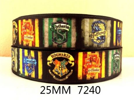 1 METRE HARRY POTTER SINGLE PICTURES RIBBON SIZE INCH HEADBANDS HAIR BOWS BIRTHDAY CAKE CRAFTS